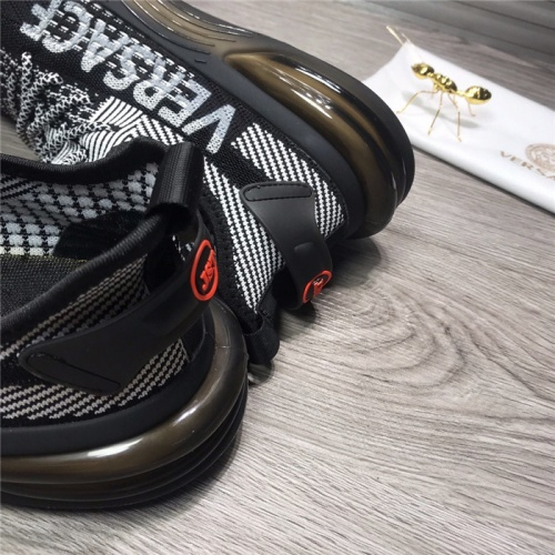 Replica Versace Casual Shoes For Men #915515 $76.00 USD for Wholesale