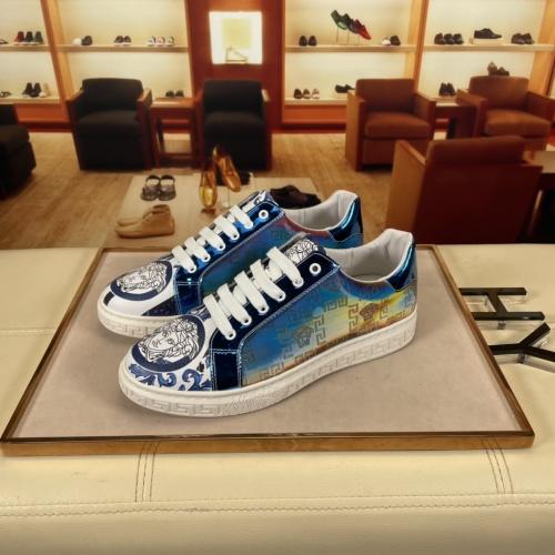 Versace Casual Shoes For Men #915677 $72.00 USD, Wholesale Replica Versace Casual Shoes