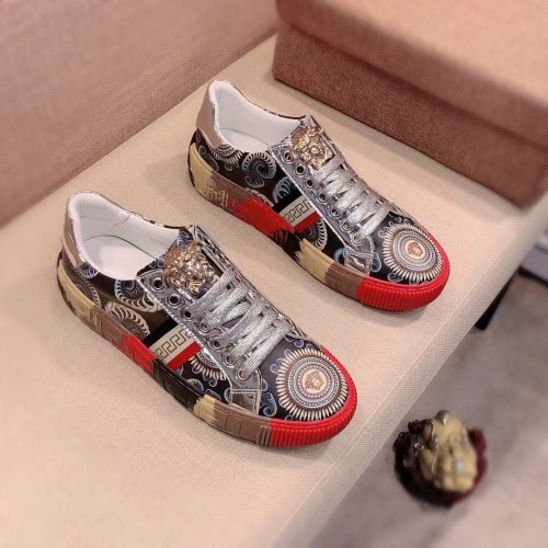 Versace Casual Shoes For Men #915679 $76.00 USD, Wholesale Replica Versace Casual Shoes