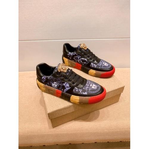 Versace Casual Shoes For Men #915681 $76.00 USD, Wholesale Replica Versace Casual Shoes