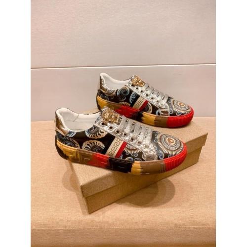 Versace Casual Shoes For Men #915686 $76.00 USD, Wholesale Replica Versace Casual Shoes