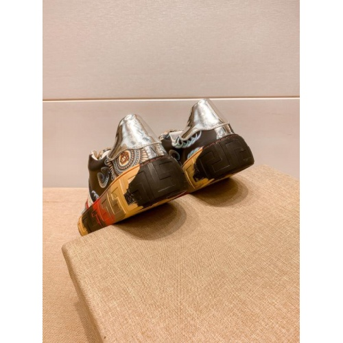 Replica Versace Casual Shoes For Men #915686 $76.00 USD for Wholesale
