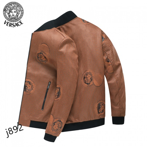 Replica Versace Jackets Long Sleeved For Men #916085 $61.00 USD for Wholesale