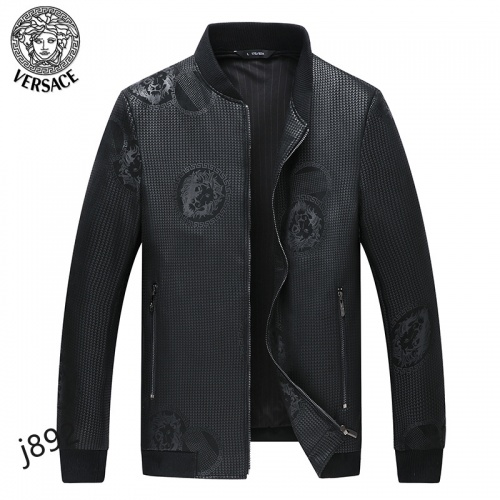 Versace Jackets Long Sleeved For Men #916086 $61.00 USD, Wholesale Replica Versace Jackets