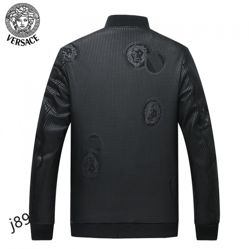 Replica Versace Jackets Long Sleeved For Men #916086 $61.00 USD for Wholesale