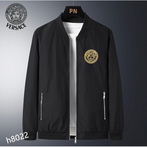Versace Jackets Long Sleeved For Men #916088 $61.00 USD, Wholesale Replica Versace Jackets