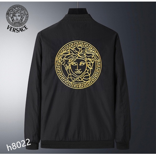 Replica Versace Jackets Long Sleeved For Men #916088 $61.00 USD for Wholesale