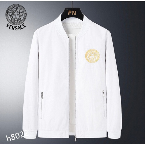 Versace Jackets Long Sleeved For Men #916089 $61.00 USD, Wholesale Replica Versace Jackets