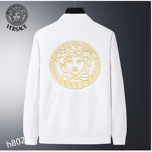 Replica Versace Jackets Long Sleeved For Men #916089 $61.00 USD for Wholesale