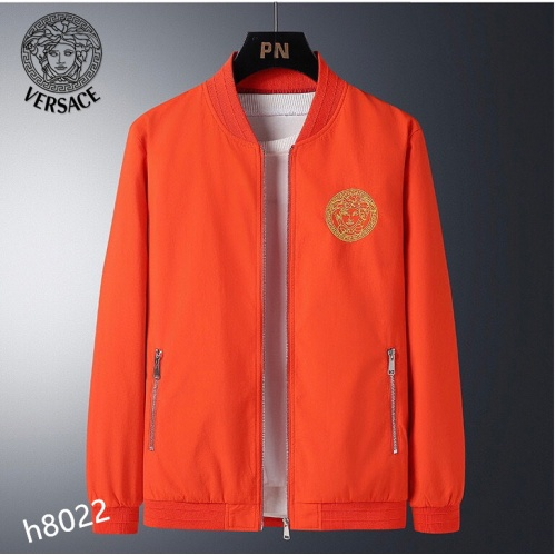 Versace Jackets Long Sleeved For Men #916090 $61.00 USD, Wholesale Replica Versace Jackets