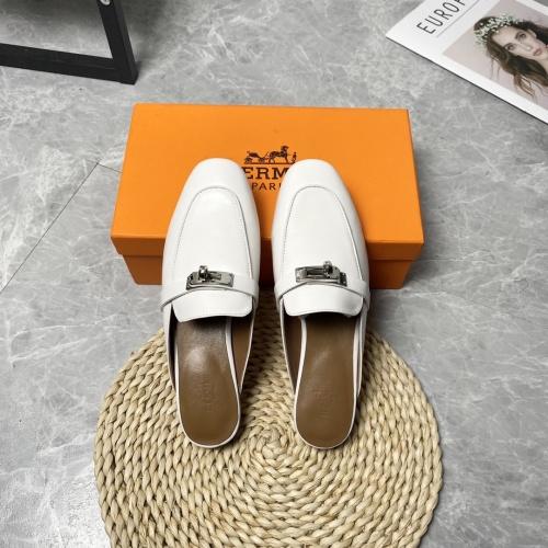 Hermes Slippers For Women #916234 $88.00 USD, Wholesale Replica Hermes Slippers