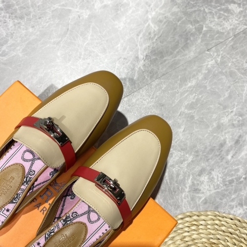 Replica Hermes Slippers For Women #916236 $88.00 USD for Wholesale