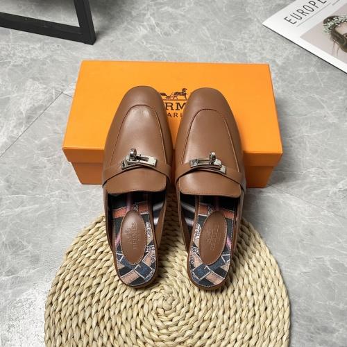 Hermes Slippers For Women #916238 $88.00 USD, Wholesale Replica Hermes Slippers