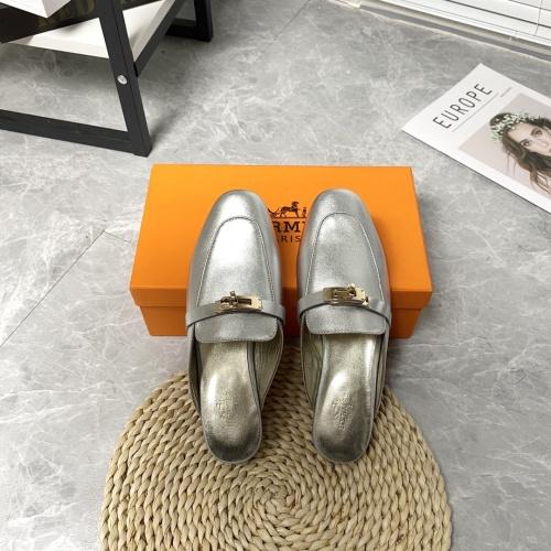 Hermes Slippers For Women #916239 $88.00 USD, Wholesale Replica Hermes Slippers