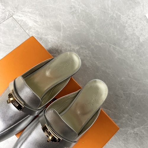 Replica Hermes Slippers For Women #916239 $88.00 USD for Wholesale
