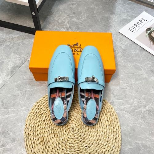 Hermes Slippers For Women #916240 $88.00 USD, Wholesale Replica Hermes Slippers