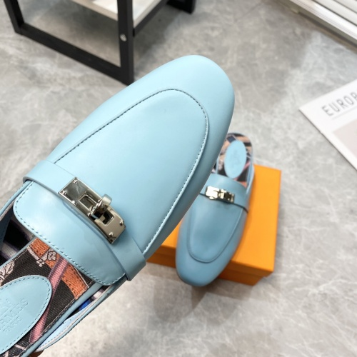 Replica Hermes Slippers For Women #916240 $88.00 USD for Wholesale