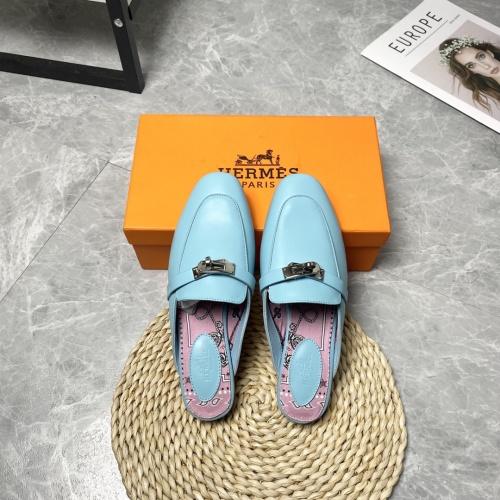 Hermes Slippers For Women #916241 $88.00 USD, Wholesale Replica Hermes Slippers