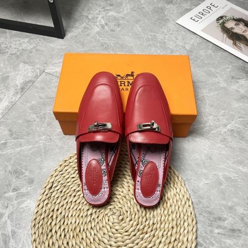 Hermes Slippers For Women #916242 $88.00 USD, Wholesale Replica Hermes Slippers