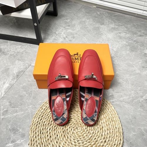 Hermes Slippers For Women #916243 $88.00 USD, Wholesale Replica Hermes Slippers