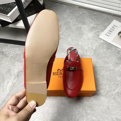 Replica Hermes Slippers For Women #916243 $88.00 USD for Wholesale