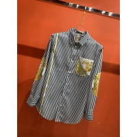 $52.00 USD Versace Shirts Long Sleeved For Men #909064
