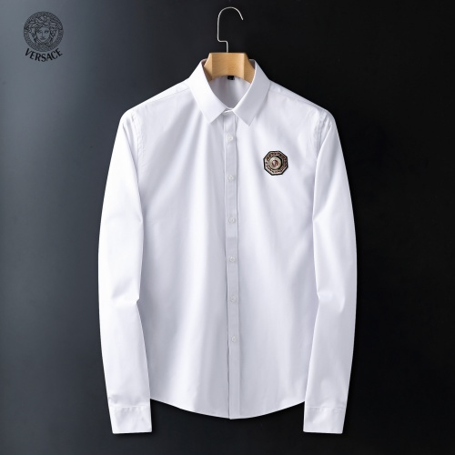 Versace Shirts Long Sleeved For Men #916748