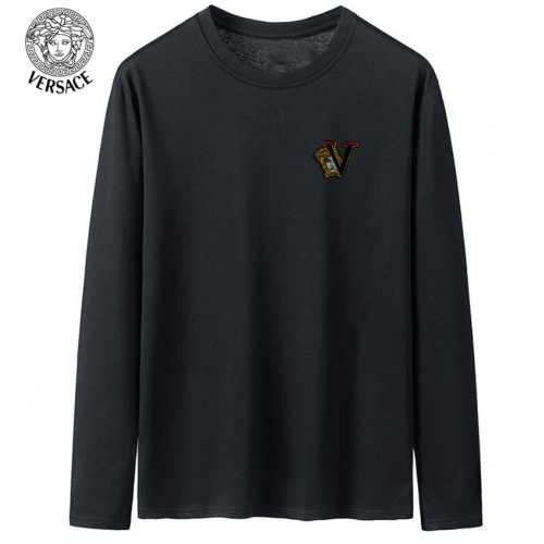 Versace T-Shirts Long Sleeved For Men #916887