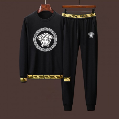 Versace Tracksuits Long Sleeved For Men #916989