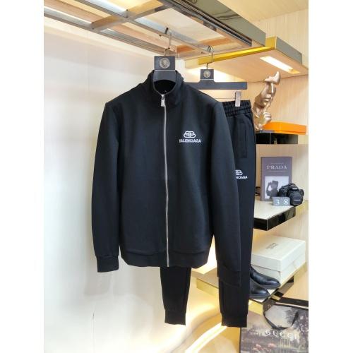 Balenciaga Fashion Tracksuits Long Sleeved For Men #917013