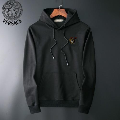 Versace Hoodies Long Sleeved For Men #919043