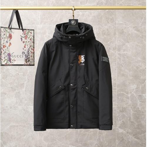 Burberry Down Coat Long Sleeved For Men #920032