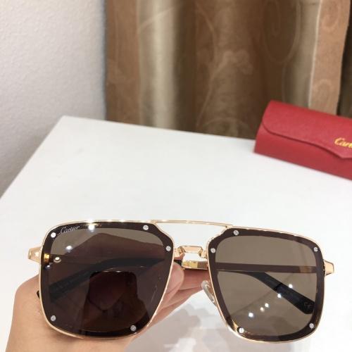 Cartier AAA Quality Sunglassess #920235