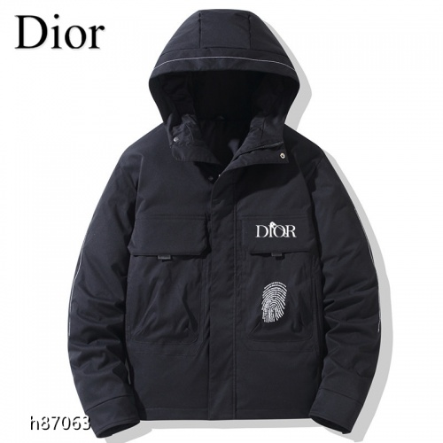 Christian Dior Down Feather Coat Long Sleeved For Men #921118