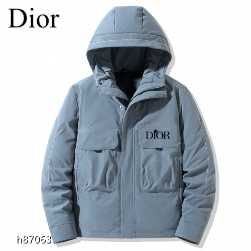 Christian Dior Down Feather Coat Long Sleeved For Men #921119
