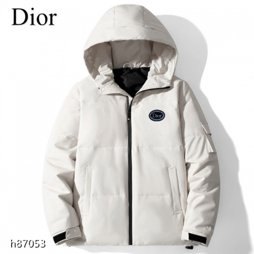 Christian Dior Down Feather Coat Long Sleeved For Men #921121