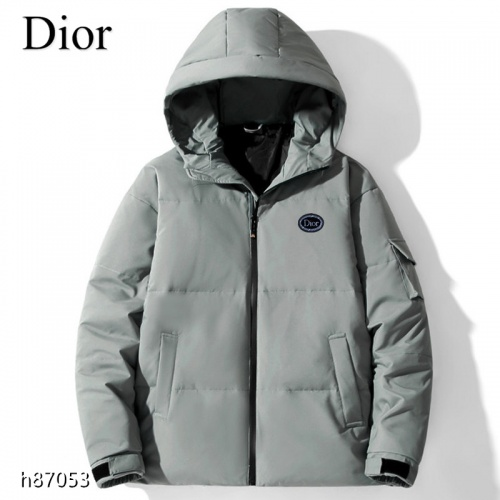 Christian Dior Down Feather Coat Long Sleeved For Men #921122