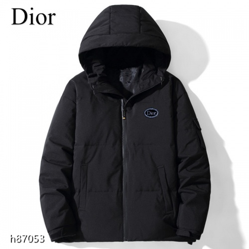 Christian Dior Down Feather Coat Long Sleeved For Men #921123