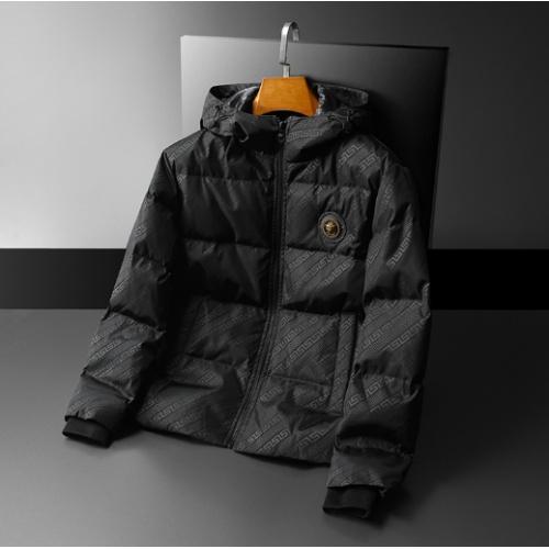 Versace Down Coat Long Sleeved For Men #922138
