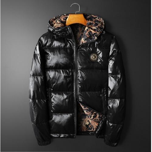 Versace Down Coat Long Sleeved For Men #922146