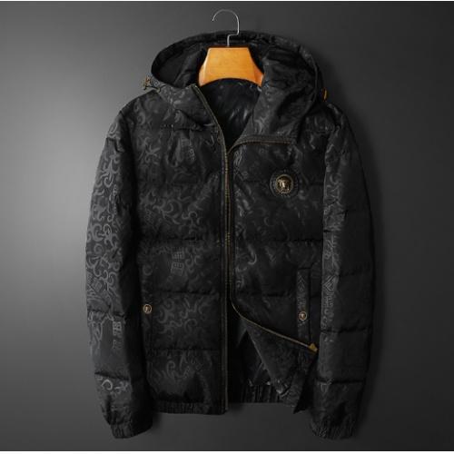 Versace Down Coat Long Sleeved For Men #922165